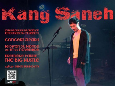 Kang Saneh Concert in Paris on sale now!